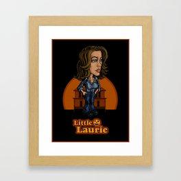 Little Laurie Poster Framed Art Print