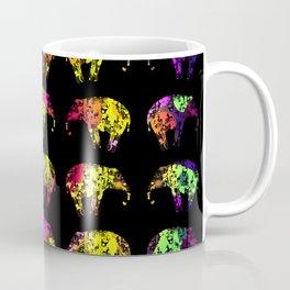 Rainbow Elephants Coffee Mug