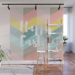 Holiday Happy Easter Waves Wall Mural