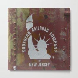 SRC New Jersey Metal Print