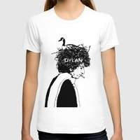 dylan T-shirts featuring Dylan by Sy Graham