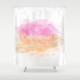 Meet Me on Calanmai Shower Curtain