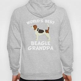 World's Best Beagle Grandpa Hoody