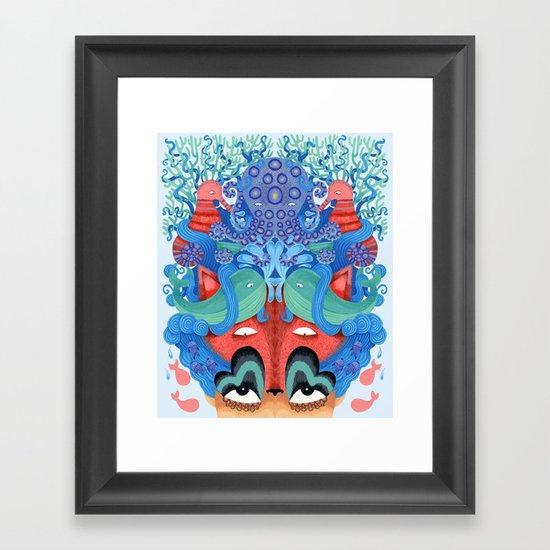Where is my mind Framed Art Print