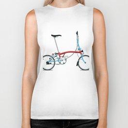 Folding London Brompton Bicycle Biker Tank