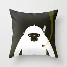 PERFECT SCENT - BIGFOOT 雪人 . EP001 Throw Pillow