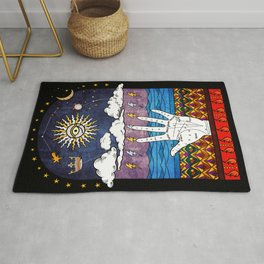 Esoteric prayer Rug