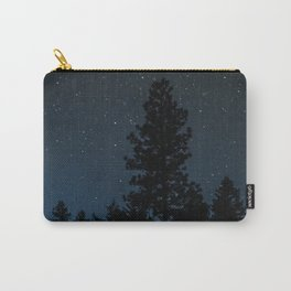 Blue Night Sky Photography Print Carry-All Pouch