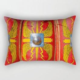 Roman Military Shield - Scutum Rectangular Pillow