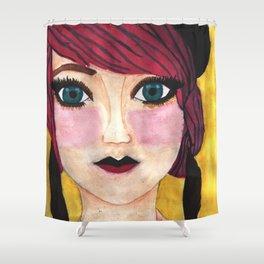 Greedy Anna Shower Curtain