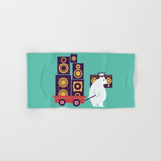 Ready to Jam Hand & Bath Towel