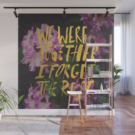 Whitman: We Were Together Wall Mural