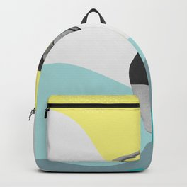 Swimmer Collage Backpack