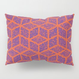 Kenna (Orange and Violet) Pillow Sham