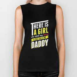 Funny Dad Gifts T-Shirts From Daughter She Calls Me Daddy Biker Tank