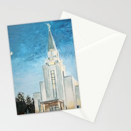 Vancouver Canada LDS Temple Stationery Cards