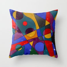 Abstract #152 Throw Pillow