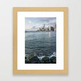 Lower Manhattan NYC Framed Art Print