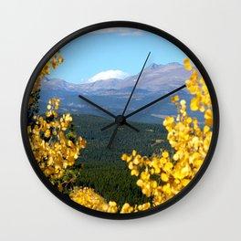 Colorado Wilderness  Wall Clock