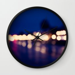 St Augustine Nights Wall Clock