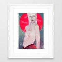 koi Framed Art Prints featuring Koi by Josh Merrick