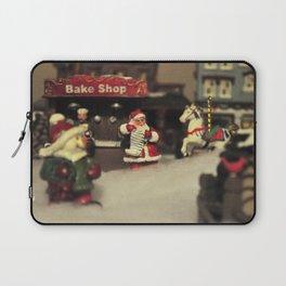Santa Checking his List Laptop Sleeve