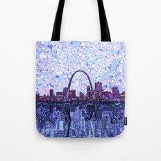 st louis city skyline Tote Bag