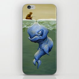 This One's About Greed iPhone Skin