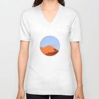 never stop exploring V-neck T-shirts featuring Never Stop Exploring by General Design Studio
