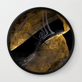 Gold Trap Wall Clock