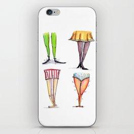 Legwork Squared iPhone Skin