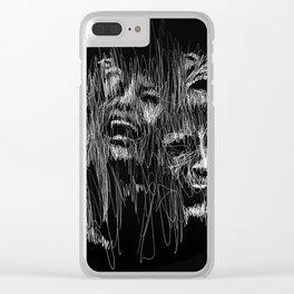 Sinking in the Dark Clear iPhone Case
