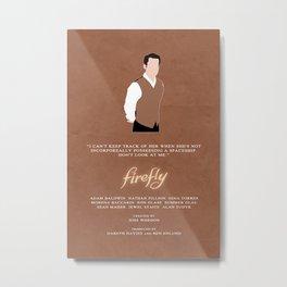 Firefly - Simon Metal Print