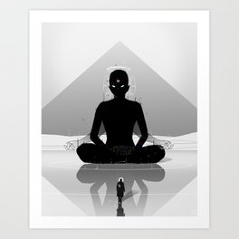 Inner Shadow Art Print
