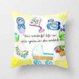 Wonderful Baby Throw Pillow