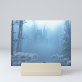 Winter in Blue Mini Art Print