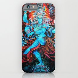 Lord Shiva The Destroyer iPhone Case