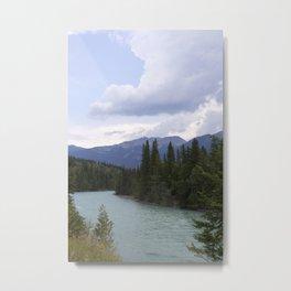 fraser river Metal Print