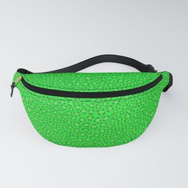 Wild Thing Acidic Green Leopard Print Fanny Pack