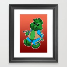 greedo bear Framed Art Print