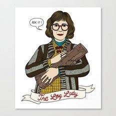 Twin Peaks (David Lynch) The Log Lady Canvas Print
