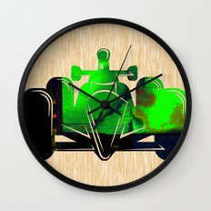 Formula Race Car Wall Clock