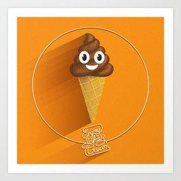 ScheißCream™  // icecream Art Print