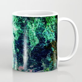 Face in Wood Abstract two Coffee Mug