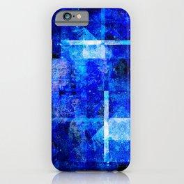 Sapphire Nebulæ iPhone Case