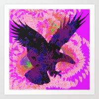 eagle Art Prints featuring eagle by giancarlo lunardon