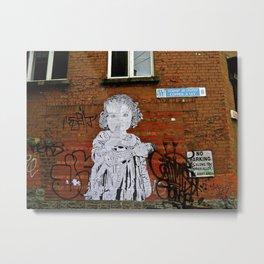Copper A Ley Street Art, Dublin Metal Print