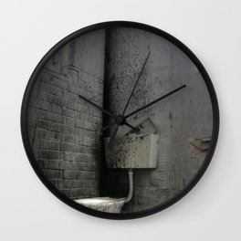 Toilet Trouble Wall Clock