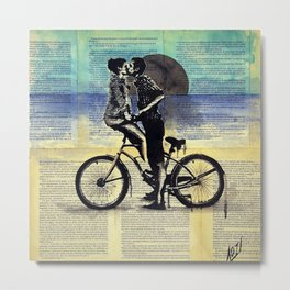 True blue love Metal Print