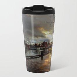 Winnisquam Launch Metal Travel Mug